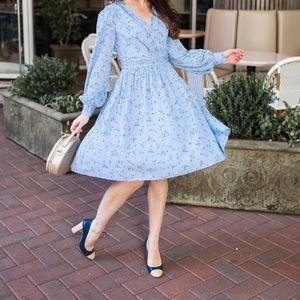 NWT Gal Meets Glam Kelsey Floral Dress SZ 2